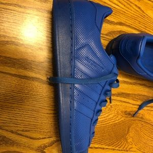 Adidas superstar adicolor blue brand new